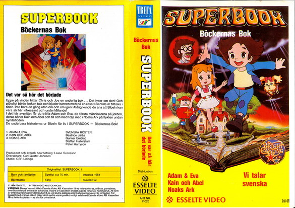 SUPERBOOK (VHS)