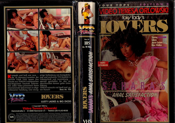 LOVERS/SAHARA'S ANAL SATISFACTION (VHS)