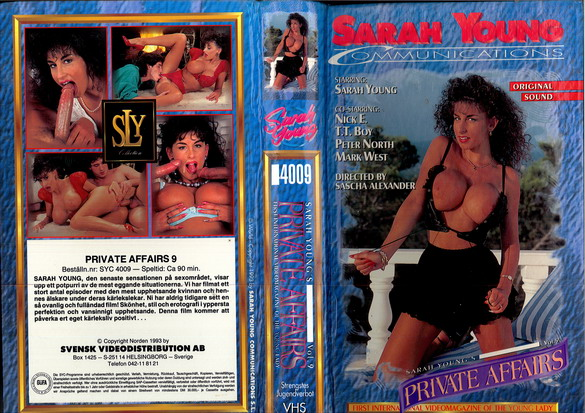 4009 PRIVATE AFFAIRS 9 (vhs)