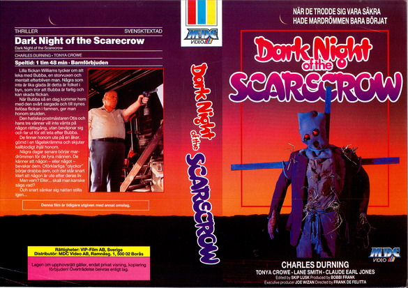 DARK NIGHT OF THE SCARECROW (vhs)