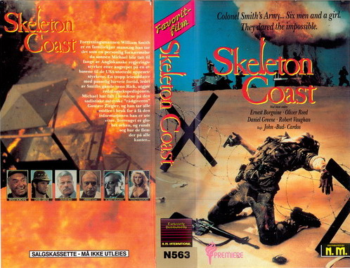 263 SKELETON COAST  (VHS)