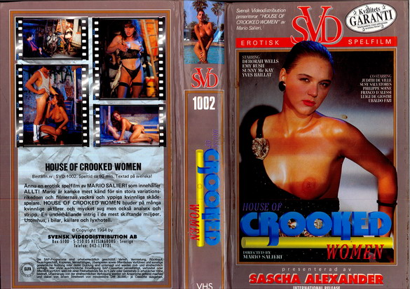 HOUSE OF CROOKED WOMEN (VHS)