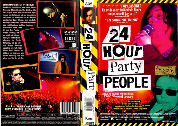 24 HOUR PARTY PEOPLE (VHS)