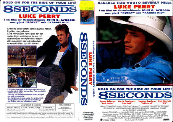 8 SECONDS (VHS)