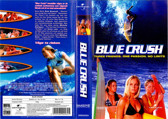 BLUE CRUSH (VHS)