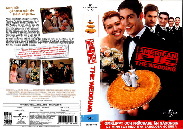 AMERICAN PIE - WEDDING (VHS)