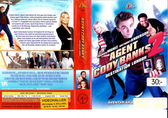 AGENT CODY BANKS 2 (VHS)