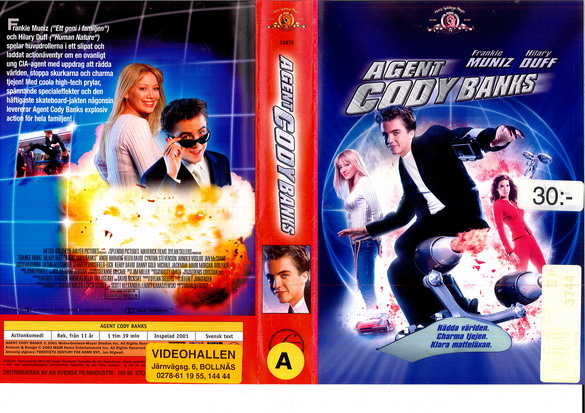 AGENT CODY BANKS (VHS)