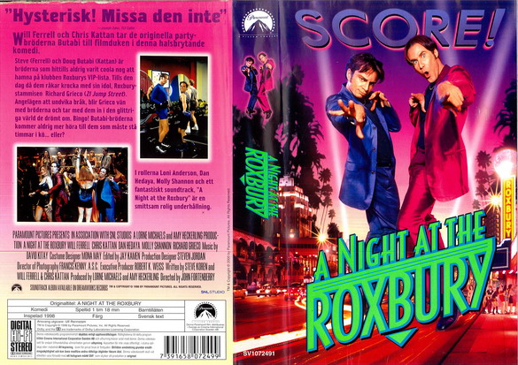 A NIGHT AT THE ROXBURY (VHS)