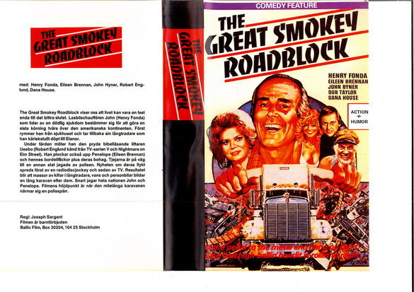 GREAT SMOKEY ROADBLOCK (VHS)