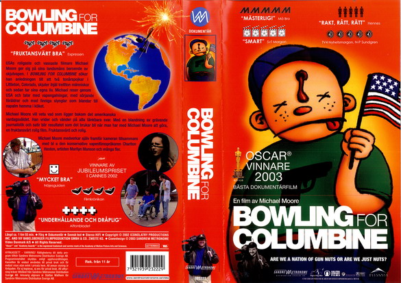 BOWLING FOR COLUMBINE (VHS)