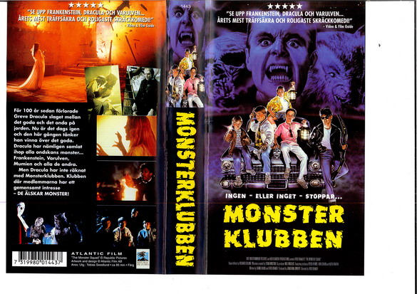MONSTERKLUBBEN (VHS)