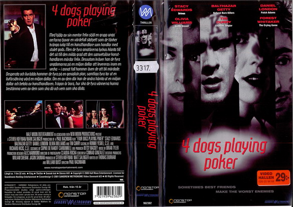 4 DAYS PLAYING POKER (VHS)