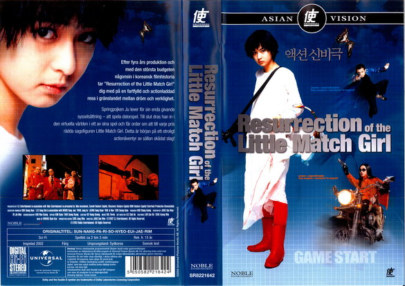 RESSURECTION OF THE LITTLE MATCH GIRL (VHS)