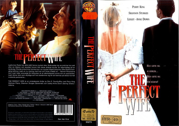 PERFECT WIFE (VHS)