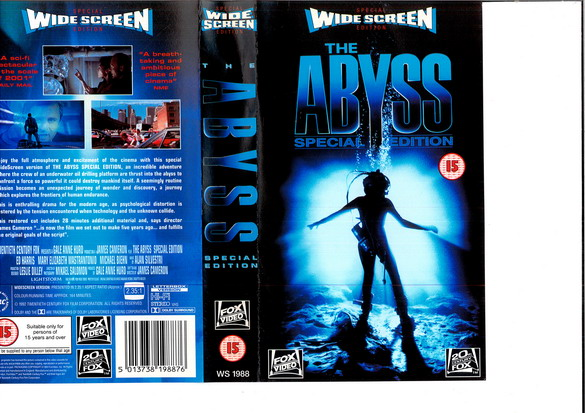 ABYSS - SPECIAL EDITION - UK (VHS)