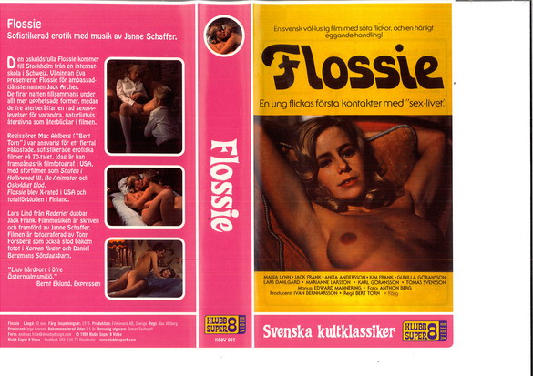 FLOSSIE (VHS)