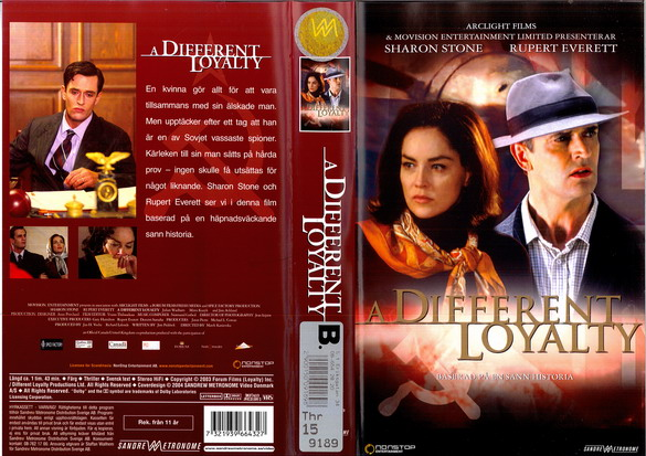 A DIFFERENT LOYALTY (VHS)