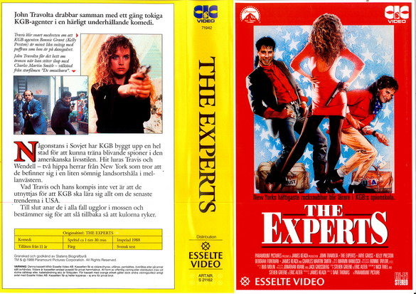 EXPERTS (VHS)