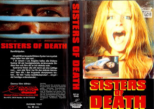 1049 SISTERS OF DEATH (VHS)