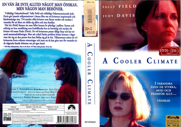 A COOLER CLIMATE (VHS)