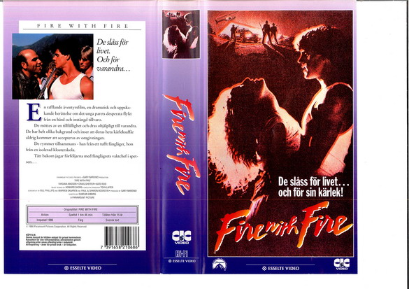 FIRE WITH FIRE (VHS)
