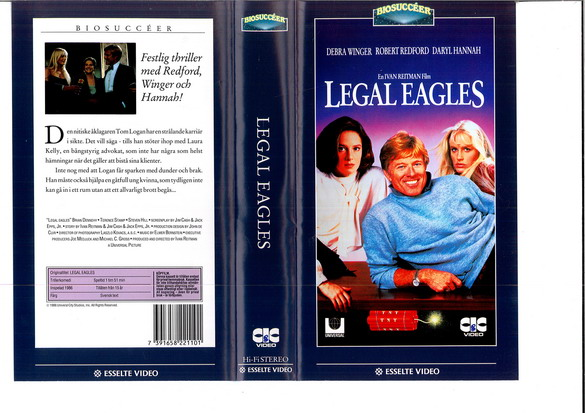 LEAGAL EAGLES (VHS)