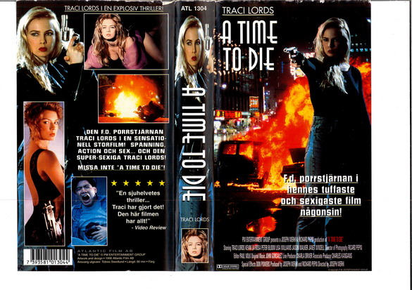 A TIME TO DIE (VHS)