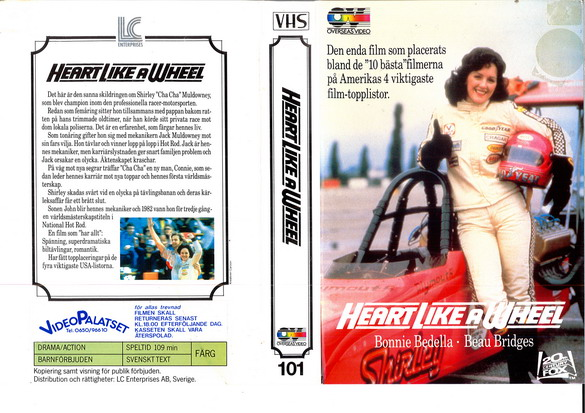 101 HEART LIKE A WHEEL (VHS)