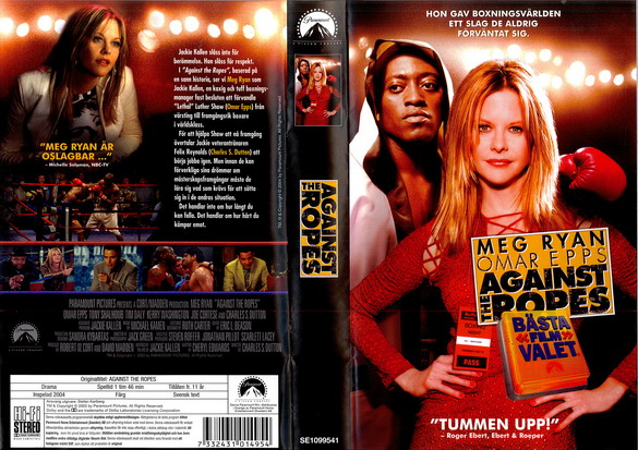 AGAINST THE ROPES (VHS)