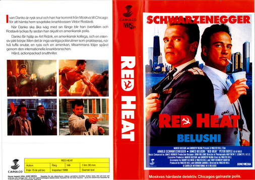 RED HEAT (VHS)