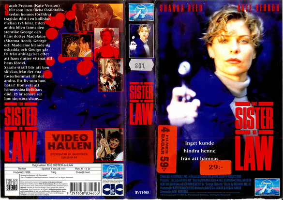 SISTER IN LAW (VHS)