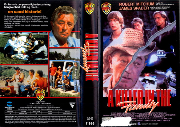 A KILLER IN THE FAMILY (VHS DK-IMPORT)