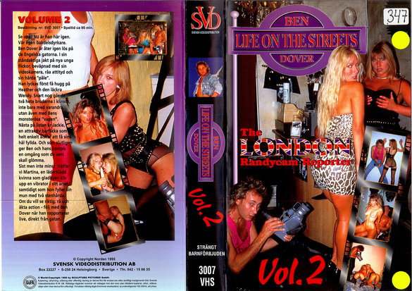 BEN DOVER - LIFE ON THE STREETS VOL 2 (VHS)