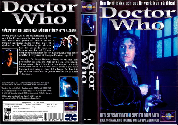DOCTOR WHO (VHS)