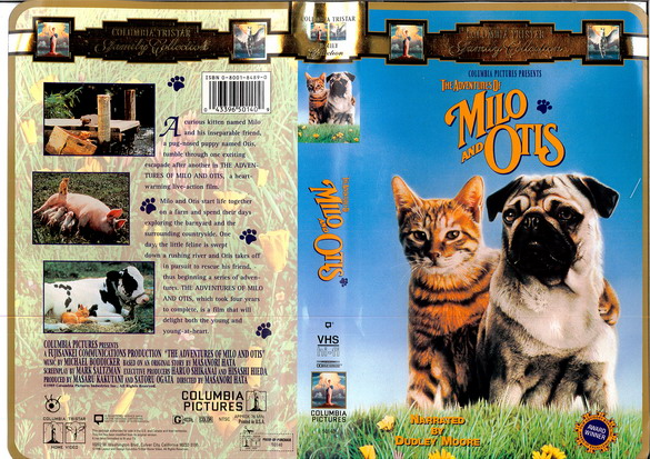MILO AND OTIS (VHS) (USA-IMPORT)