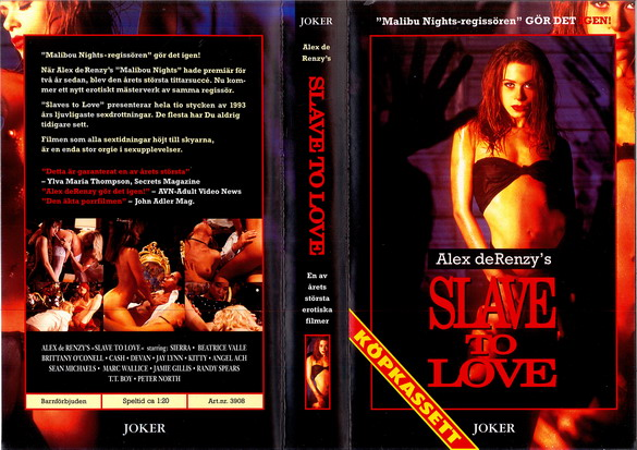 3908 SLAVE TO LOVE (vhs)