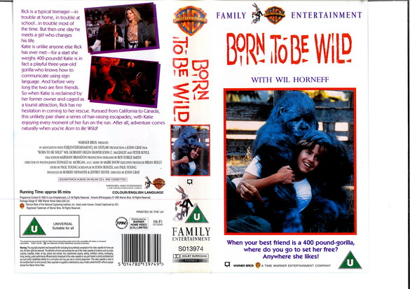 BORN TO BE WILD (VHS) (UK-IMPORT)