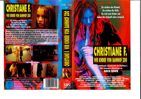 CHRISTIANE F. (GER-IMPORT) (VHS)