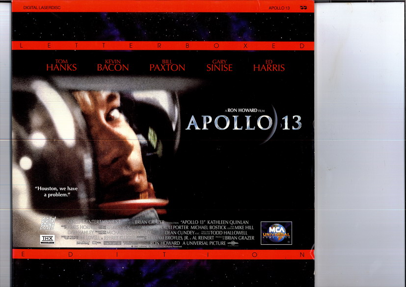 APOLLO 13 (LASER-DISC)