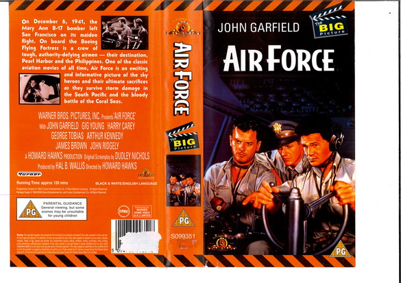 AIR FORCE - (VHS) (UK-IMPORT)