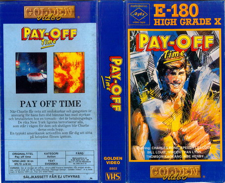 PAY-OFF TIME (vhs)