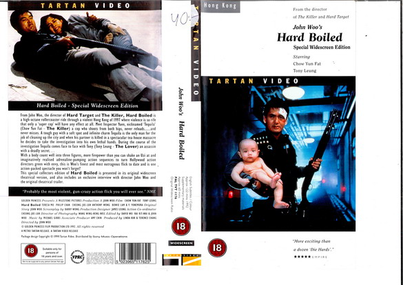 HARD-BOILED (UK-VHS)
