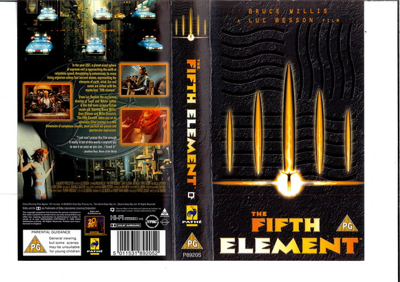 FIFTH ELEMENT (VHS) (UK-IMPORT)