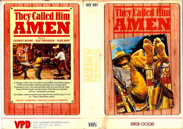 THEY CALLED HIM AMEN (VHS)