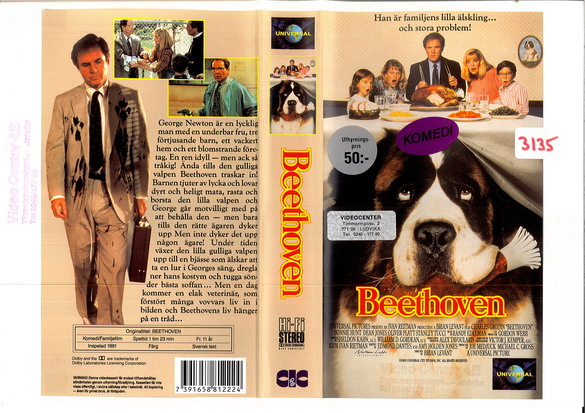 BEETHOVEN (VHS)