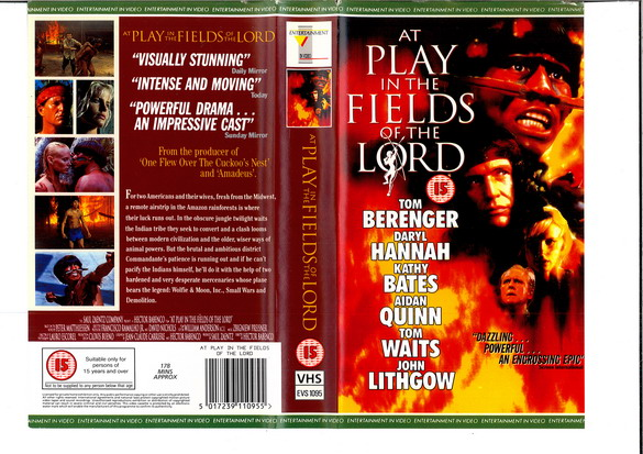 AT PLAY IN THE FIELDS OF THE LORD - (VHS) (UK-IMPORT)