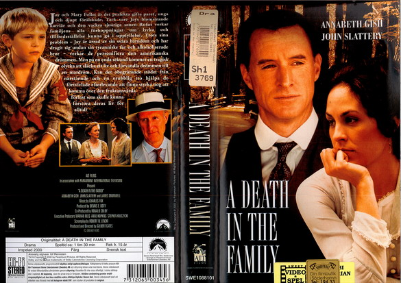 A DEATH IN THE FAMILY (VHS)