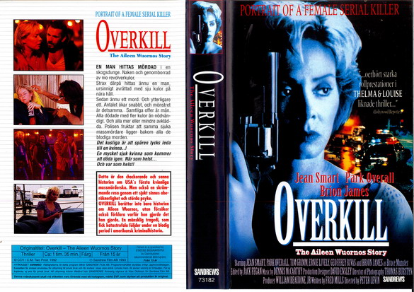 OVERKILL - THE AILEEN WUORNOS STORY (VHS)