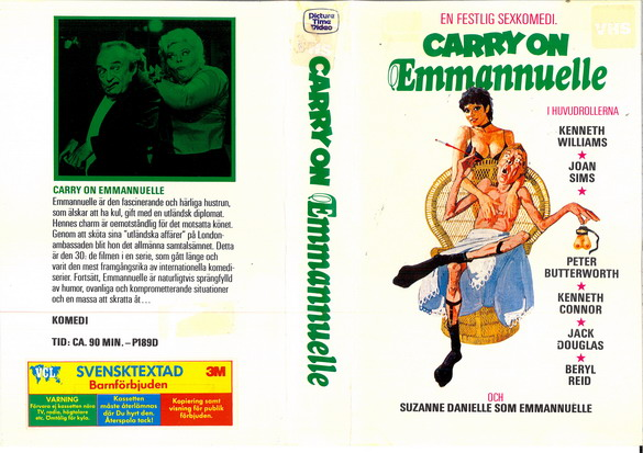 189 CARRY ON EMMANNUELLE (VHS)